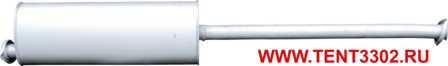 глушитель газель камминз евро-3 cummins isf 2.8 удлиненная база 330202-1201008-40