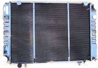 Радиатор для Газели медный 2-х рядный.